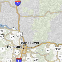 Road Weather Conditions Map TripCheck Oregon Traveler - Oregon road maps