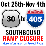 I-405: Ramps Project website