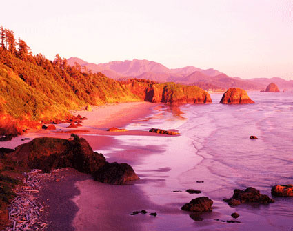 Ecola State Park, near Cannon Beach