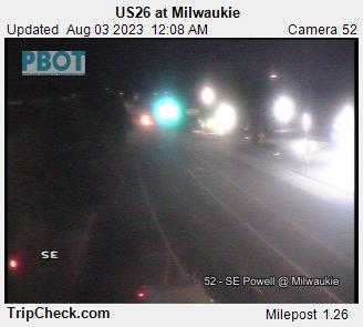 RoadCam - US26                                              at Milwaukie