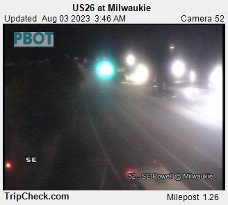 US 26 at Milwaukie
