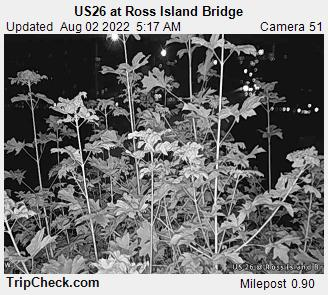 US 26 at Ross Island Bridge