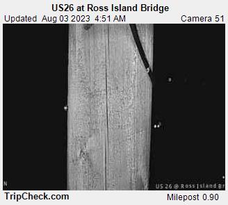 RoadCam - US26                                              at Ross Island Bridge