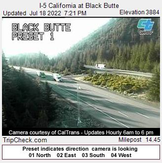I-5 California at Black Butte