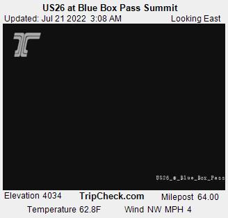 US26 at Blue Box Pass Summit