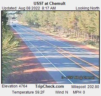 US97 at Chemult