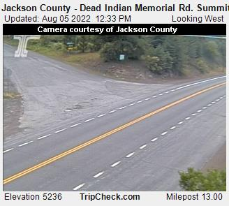 Jackson County - Dead Indian Memorial Rd. Summit