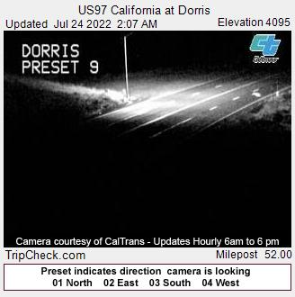 US97 California at  Dorris