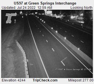US97 at Green Springs Interchange