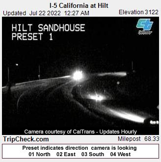 I-5 California at Hilt