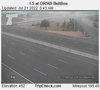 I-5 at Beltline - Lane County Mugshots
