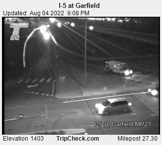 I-5 South Medford Interchange at Garfield. Courtesy ODOT.