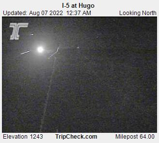 I-5 NB at Hugo
