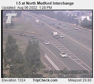 I-5 at North Medford Interchange