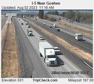 I-5 Near Goshen - Lane County Mugshots