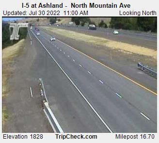 I-5 at Ashland -  North Mountain Ave