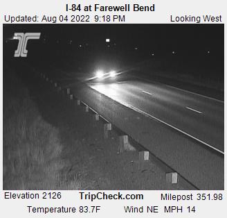 I-84 at Farewell Bend