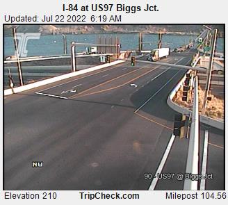 ODOT I-84 @ Biggs