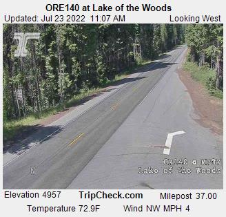 Highway 140 | Road Conditions | Southern Oregon Road