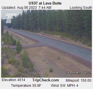 US 97 @ Lavabutte South