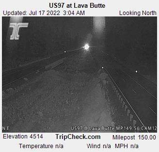 US97 at Lava Butte