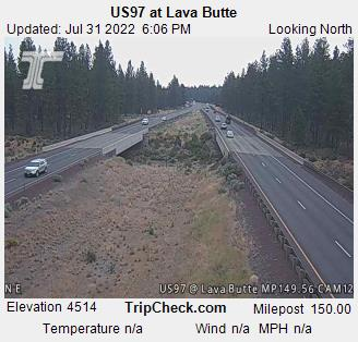 US 97 @ Lava Butte North