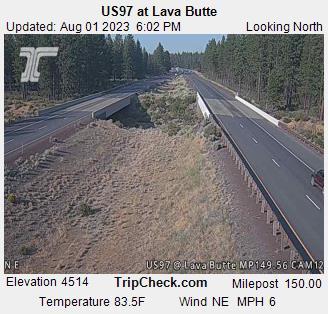 US 97 @ Lava Butte North