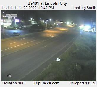 RoadCam - US101 at Lincoln City
