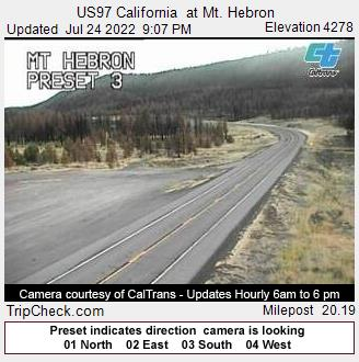 Highway 97 | Road Conditions | Southern Oregon Road Conditions
