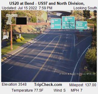 US 97 / 20 @ North Division