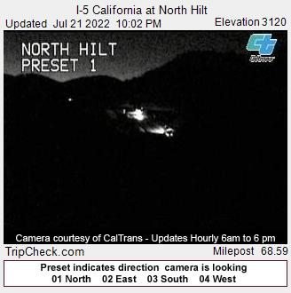 California Road Trip Trip Planner Map, Siskiyous At Hilt, California Road Trip Trip Planner Map