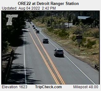 ORE22 at Detroit Ranger Station