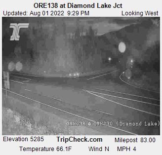 ORE138 at Diamond Lake Jct