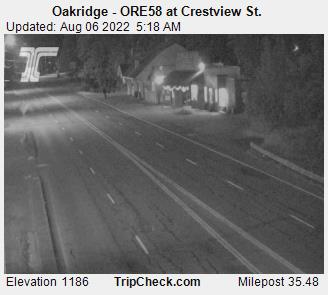 Oakridge - ORE58 at Crestview St.