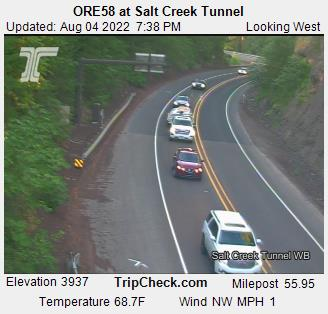 ORE58 at Salt Creek Tunnel