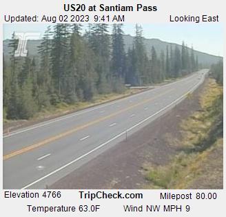 Willamette National Forest - Winter Recreation Area: Santiam Pass