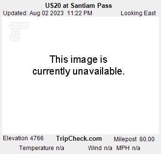 US 20 @ Santiam Pass - East