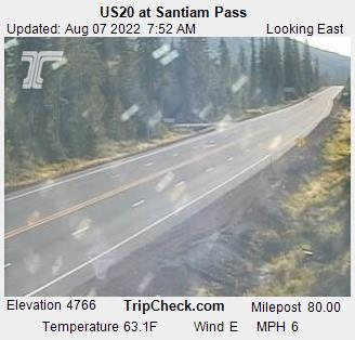 US20 at Santiam Pass