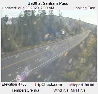 US20 at Santiam Pass