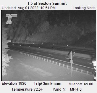 I-5 at Sexton Summit