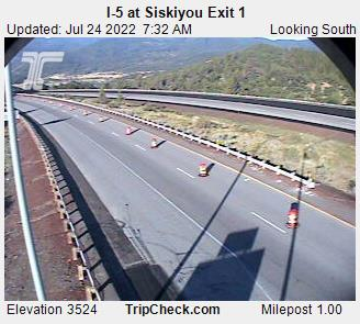 I-5 at Siskiyou Exit 1