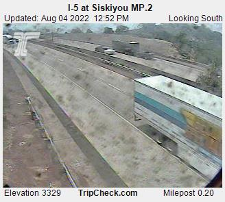 I-5 at Siskiyou MP.2
