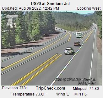 US 20 @ Santiam Jct West
