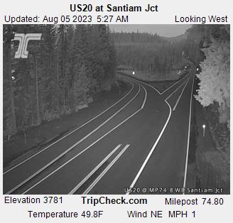 US 20 @ Santiam Jct West