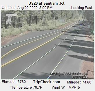 US20 at Santiam Jct
