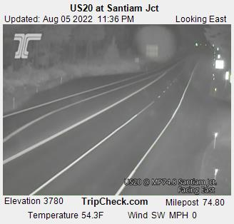 US 20 @ Santiam Jct East