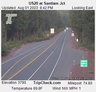 US 20 @ Santiam Jct East