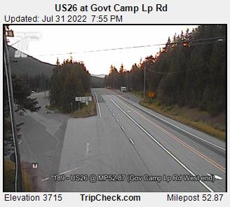 Live Winter Road Conditions and Mountain Snow Information for Mt