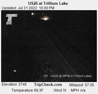 Live Feed: US26 at Trillium Lake