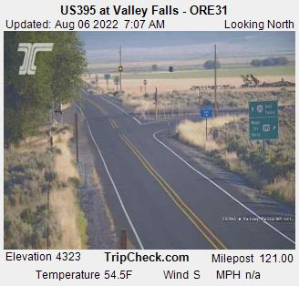 US395 at Valley Falls - ORE31